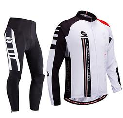 sponeed Cycling Clothes for Men Bike Jersey Pants Padding Ti