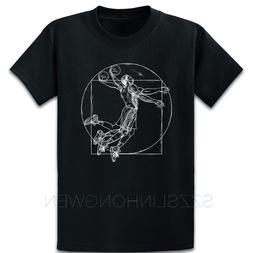 Da Vinci Vitruvian Man <font><b>Basketball</b></font> T Shir