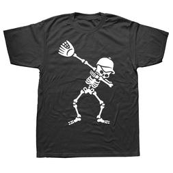 Dab Dabbing Skeleton T Shirt <font><b>Baseball</b></font> <f
