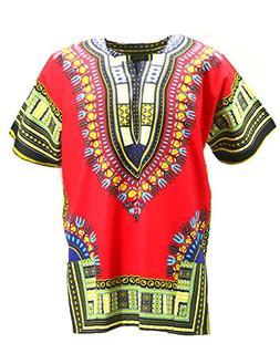 KlubKool Dashiki Shirt Tribal African Caftan Boho Unisex Top