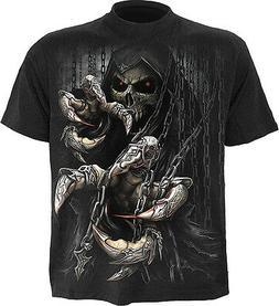 Spiral Direct DEATH CLAWS Mens T-Shirt, Rock, Biker, Reaper,