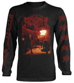 Immortal 'Diabolical Fullmoon Mysticism'  Long Sleeve Shirt