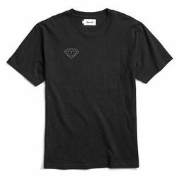 Diamond Supply Co. Men's Brilliant Short Sleeve T Shirt Blac