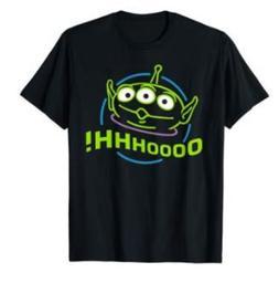 Disney Pixar Toy Story Alien T-Shirts Cotton M-3XL US Men's