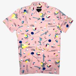 Drill Clothing Co. | Retro 80s/90s Shapes Mens Small Soft Pi