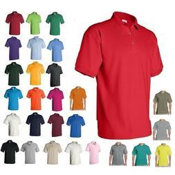 Gildan DryBlend Mens Polo Sport Shirt Jersey T-Shirt 8800 NW