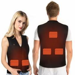 electric usb winter heated warm vest men