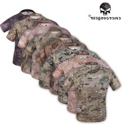 Emerson Tactical Shirt Clothing Anti-UV & Wicking Camo Paint