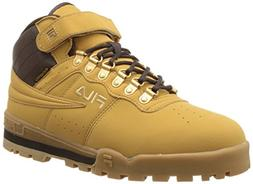 Fila Men's F-13 Weather Tech Hiking Boot, Wheat/Espresso/Med