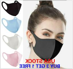 Face Mask Reusable Washable Covering Masks Clothing Men Wome