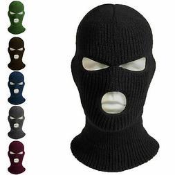 Face Mask Ski Mask Winter Cap 2 / 3 Hole Balaclava Beanie Ha