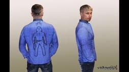 Fashion Men's Outerwear  Cotton Jacket Casual Clothes Coat