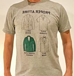 "JEL GOLF Fashion Shirt ""PROPER ATTIRE"" Masters Edition"