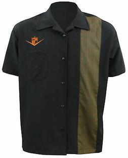 STEADY CLOTHING Floor It! Single Panel Button Up Bowling Shi