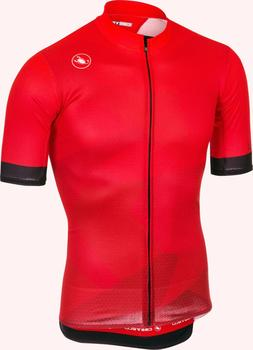Castelli Flusso Men's Cycling Jersey Red : Sizes M-XL : BEST