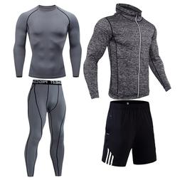 <font><b>Men's</b></font> compression suit Running tights 4