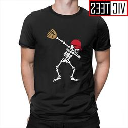 <font><b>Men's</b></font> Dab Dabbing Skeleton T Shirt <font