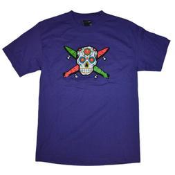 Fourstar Clothing Men's Skateboarding Skull T-Shirt