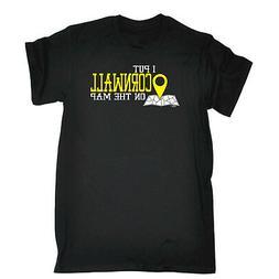 Funny Novelty T-Shirt Mens tee TShirt Cornwall I Put On The