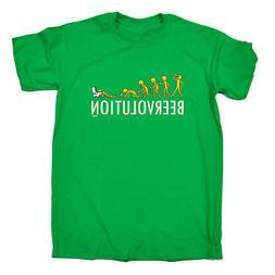 Funny Novelty T-Shirt Mens tee TShirt - Beervolution