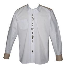 Dirndl Trachten Haus German White Lederhosen Button Down Dre