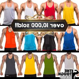Gym Singlets - Men's Tank Top for Bodybuilding and Fitness -