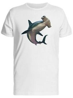 Hammerhead Shark Painting Men's Tee -Image by Shutterstock