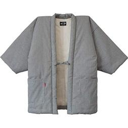 Hickory Stripe HANTEN casual made in Japan Kimono-style Men'