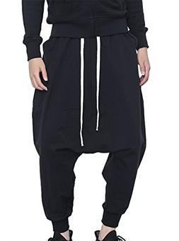 JINXUAN Men's Hip Hop Pants Casual Pants Elastic Waist Sport