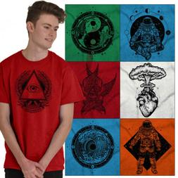 Hippie Tee Shirt Graphic T Shirt For Mens Womens Celestial N
