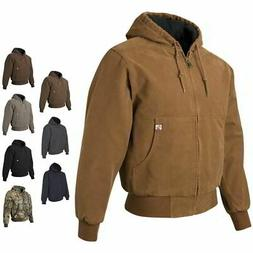 DRI DUCK Hooded Boulder Cloth Mens Winter Jacket with Tricot