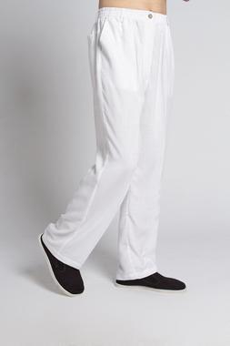 Hot Sale White <font><b>Men's</b></font> Linen Kung Fu Trous