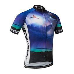 Interstellar Men's Cycling Jersey COOLMAX Mountain Bike Biki