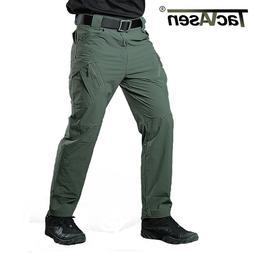 TACVASEN IX9 Mens Tactical Quick Dry Cargo Pants Military Wo
