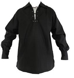 jacobite ghillie shirt black 3x large