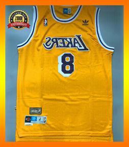 Kobe Bryant Jersey LA Lakers Hardwood Classics #8 Men's Swin
