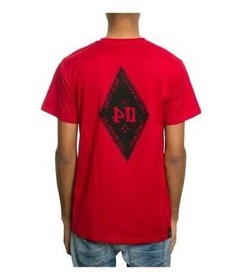 Fourstar Clothing Mens The 04 Diamond Graphic T-Shirt