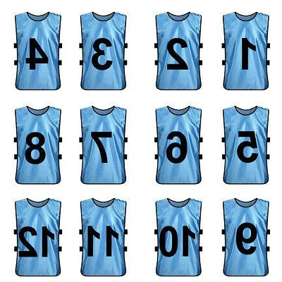 Numbered Soccer Bib