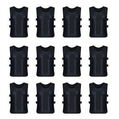 12x lot adult scrimmage training vest soccer