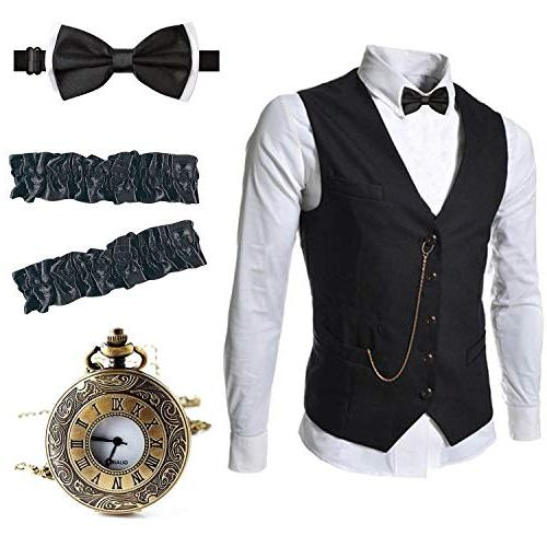 1920s gangster vest set