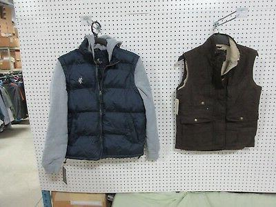 2 mens coats fall winter hoodie vest
