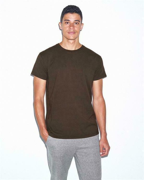 American Apparel Power Wash Sleeve T-Shirt