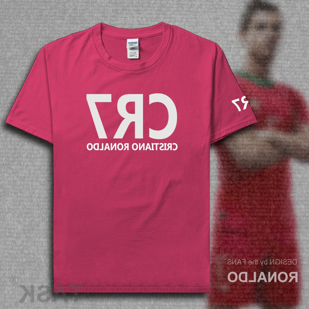 2017 shirts Ronaldo T-Shirt Christiano Cotton <font><b>Clothing</b></font> Plus <font><b>footballer</b></font> Madrid new 10