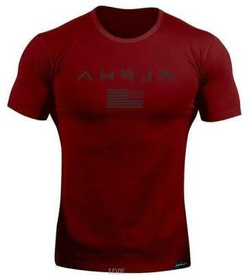 2019 Brand t-shirt Fitness Short sleeve