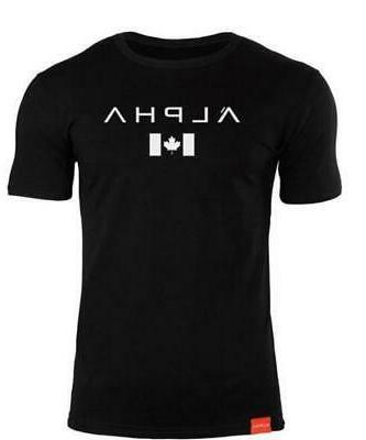 2019 t-shirt ALPHA Fitness T-shirt Short sleeve Men