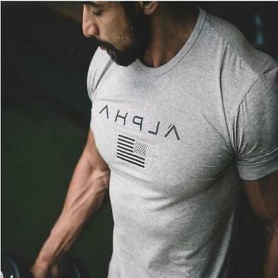2019 brand clothing gyms t shirt fitness