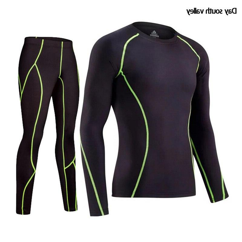2019 winter rash kit Long Sleeve trousers Compressed thermal <font><b>Men</b></font>