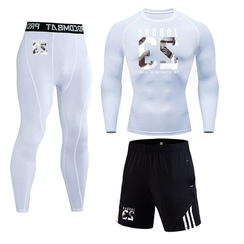23 Sportswear piece suit <font><b>Men's</b></font> Suit Gym <font><b>Cycling</b></font> base <font><b>men</b></font>