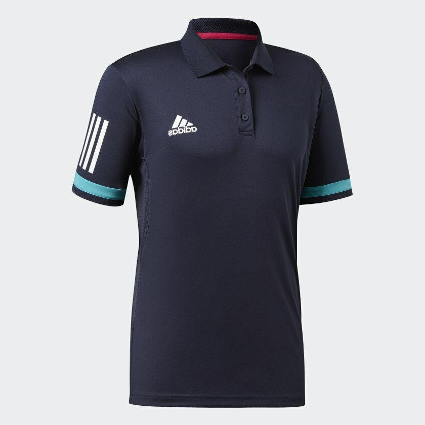 adidas Club Polo Shirt Blue Golf UV