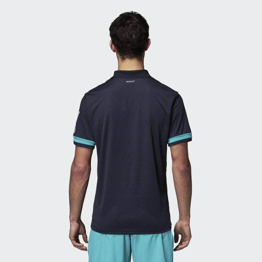 adidas 3 Stripes Club Polo Shirt Golf 50+